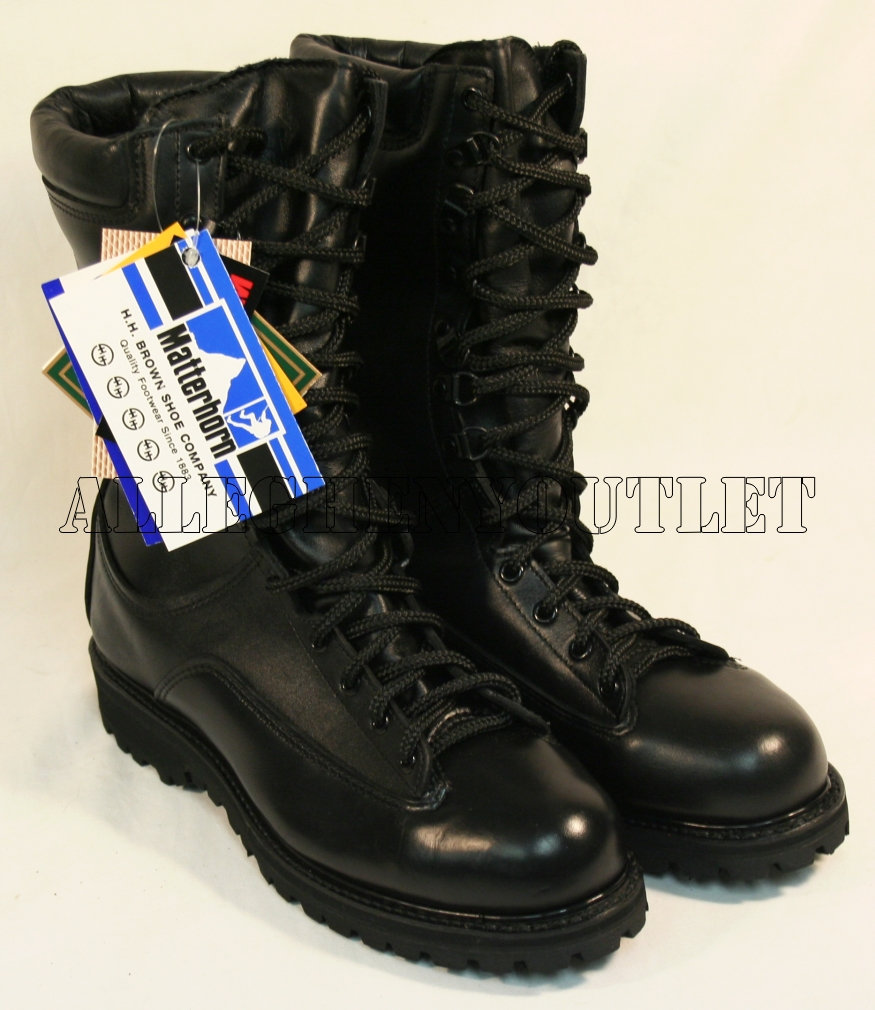 Waterproof Matterhorn Military Issue Full Leather Combat