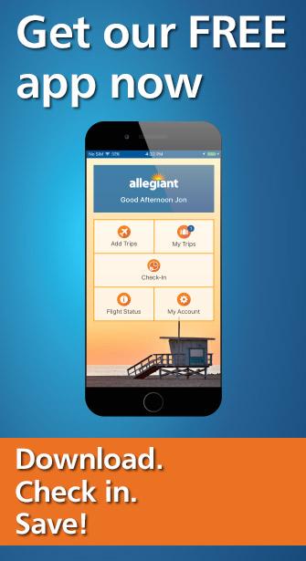 Download the Allegiant Mobile App Allegiant Air