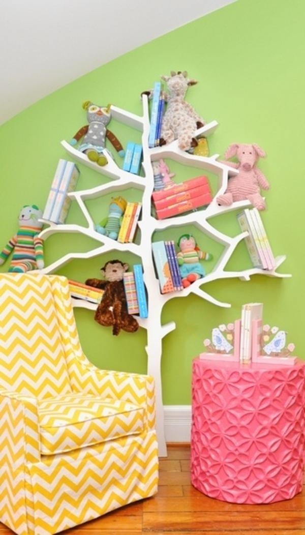 ▷ Kinderzimmer dekorieren - eine lebensfrohe Welt schaffen - kinderzimmer gestalten wand
