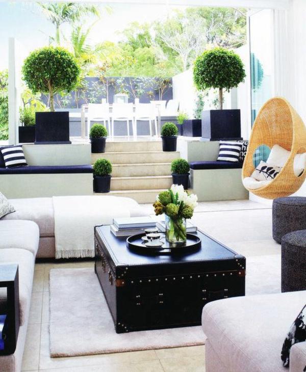 ▷ Grünpflanzen bestimmen Ihr Ambiente- dekorieren Sie mit - dekoration wohnzimmer bilder