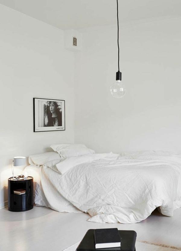 Beautiful Minimalismus Schlafzimmer In Weis Gallery - Ideas ...