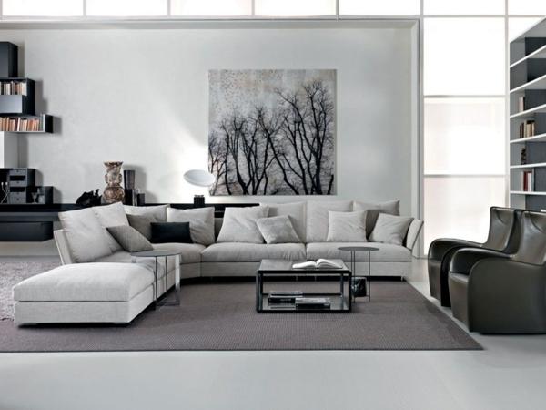 Best Teppich Wohnzimmer Grau Pictures - Design & Ideas 2018 ...