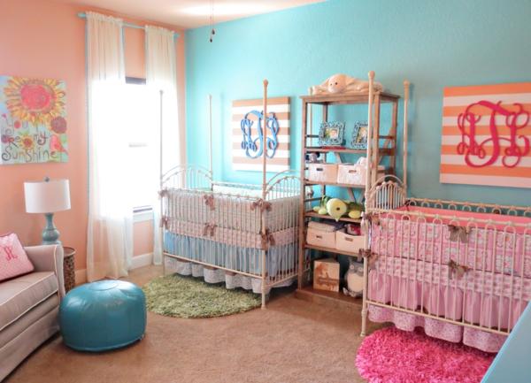 ▷ Babyzimmer Mädchen und Junge - einige kombinierte Einrichtungsideen - babyzimmer madchen und junge