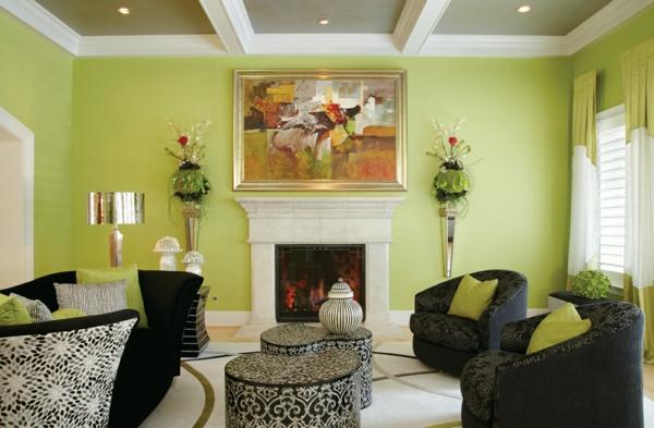 Stunning Wohnzimmer Modern Grun Contemporary - House Design Ideas - wohnzimmer bilder grun