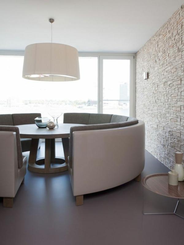 Runde Sofas Für Eine Harmonische Und Friedliche Stimmung Zu Hause    Esszimmer Mit Sofa
