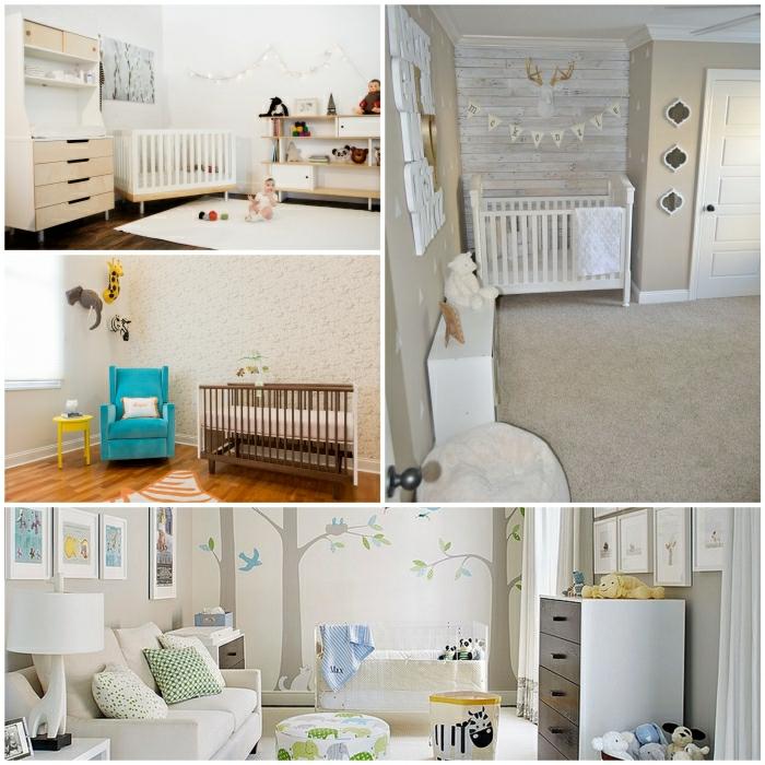 ▷ Babyzimmer gestalten - neutrale Farben passen für Mädchen und - babyzimmer madchen und junge
