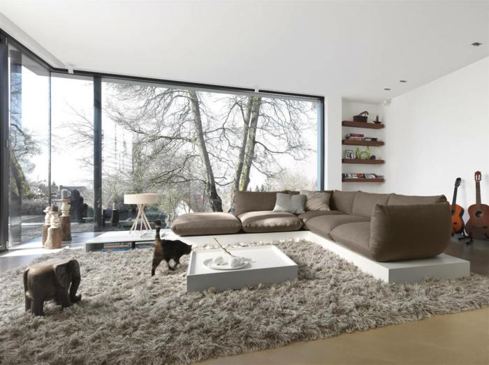 ▷ 60 Dekoideen für Ihr großes Zimmer - wohnzimmer deko ideen