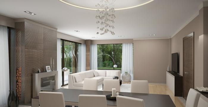 ▷ 1001+ Ideen für Taupe Farbe im Innendesign - 45 überzeugende Ideen! - wohnzimmer farben fotos