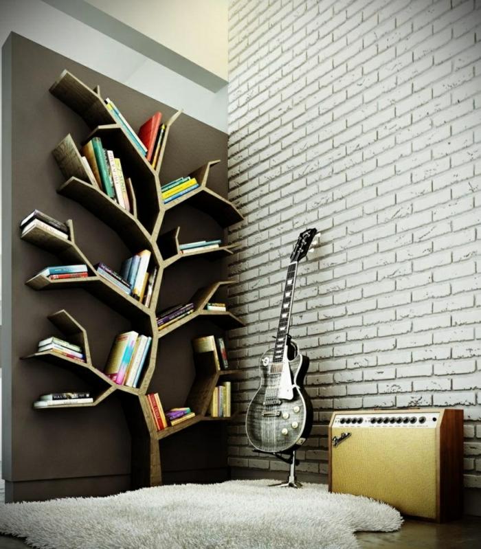 ▷ Wandgestaltung fürs Wohnzimmer - 36 kreative und ideenreiche - wandgestaltung wohnzimmer beispiele