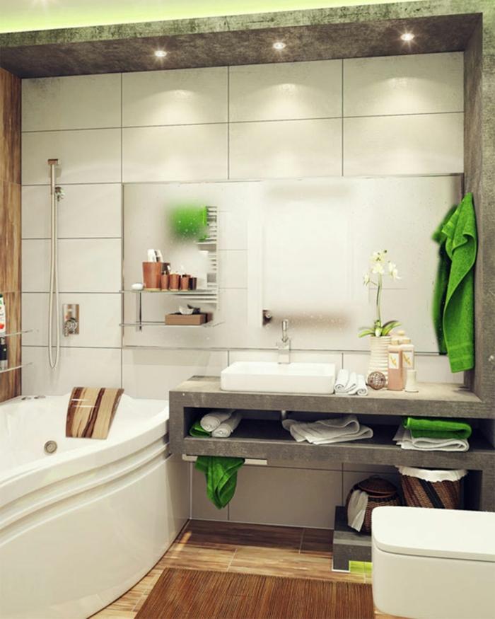 ... Vorzglich Bad Deko Modern Beabsichtigt Modern Beachtlich Bad Deko    Badezimmer Deko ...