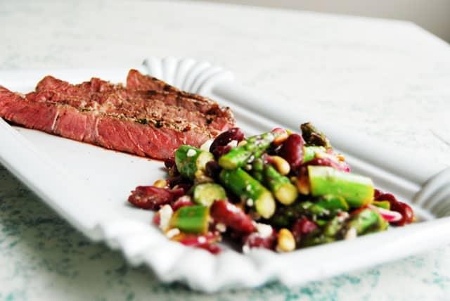 steak-mit-spargelsalat