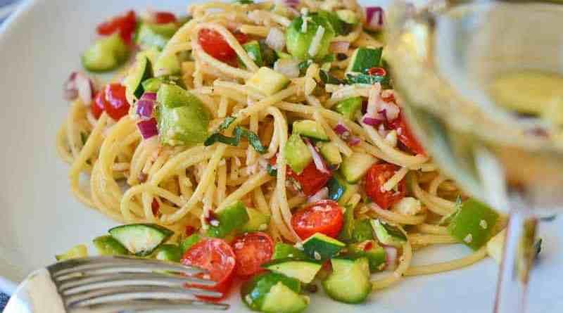 Nudelsalat mit Gemüse – neues Winteressen ?