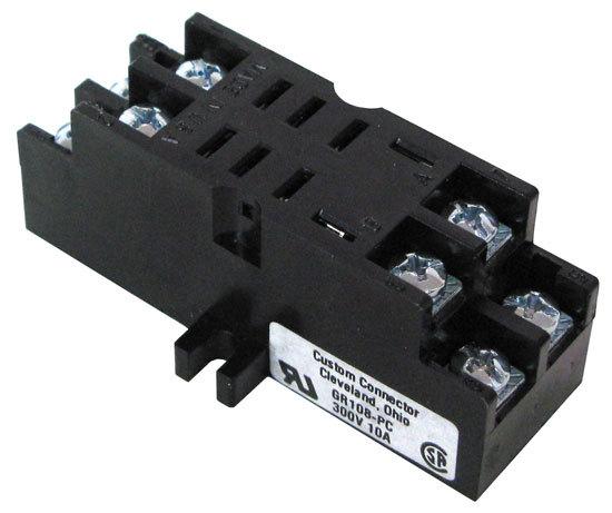 For Rj 45 Wiring Diagram 8 Pin Midget Relay Socket Screw Terminals All