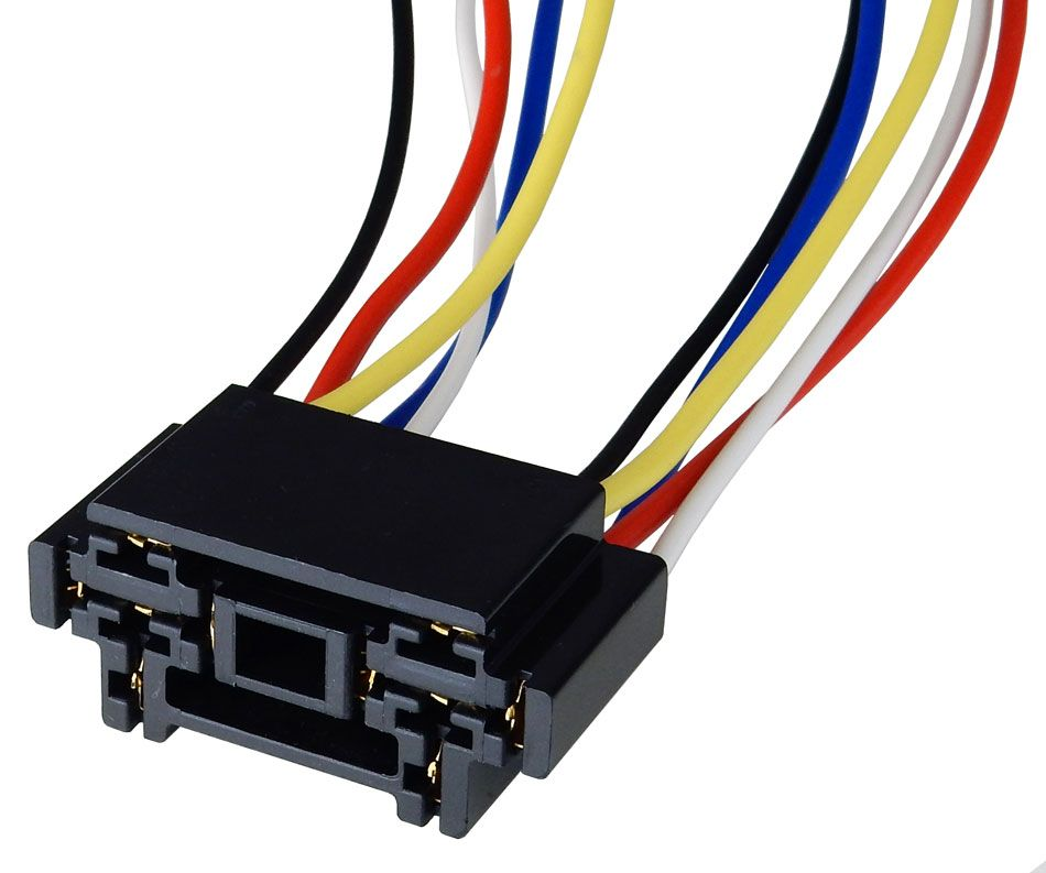 DUAL SOCKET FOR AUTO RELAY All Electronics Corp