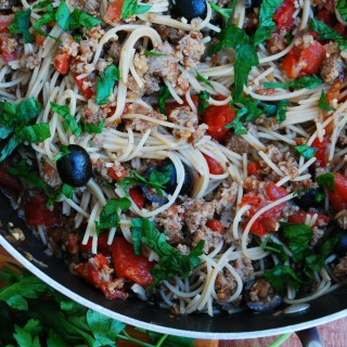 30 MINUTE SAUSAGE AND PEPPERS PASTA (GF, DF, EGG, SOY, PEANUT, TREE NUT FREE, TOP 8 FREE) Recipe by Allergy Awesomeness