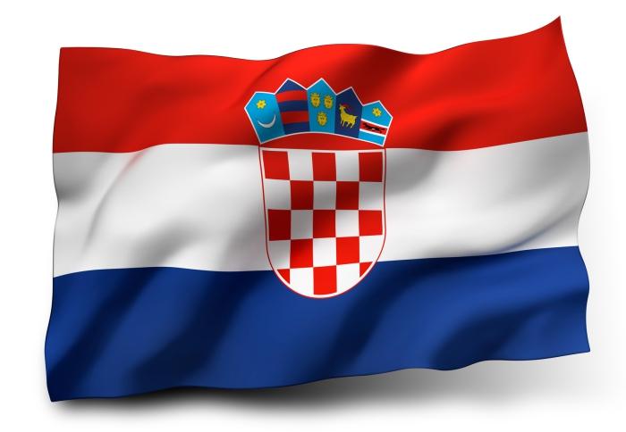 Fall Wallpaper Japan Kroatien Fahne Als Schwenk Zaun Oder Hissfahne