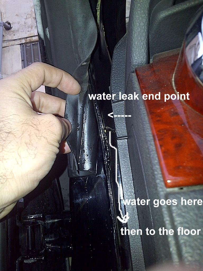 Water Leaks Driver Side Photos Ford Mustang Forum