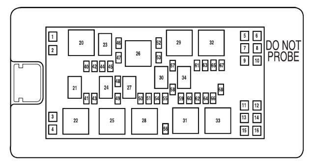 2005 mustang fuse diagram