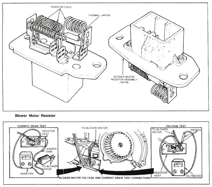 2012 Ford Fusion Blower Motor Resistor Wiring Diagram - Somurich
