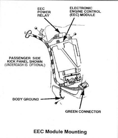 1989 Mustang Gt EEC Question - Ford Mustang Forum
