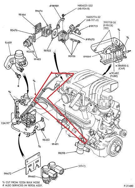 1990 mustang 5.0 engine harness