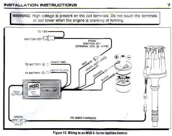 Msd Ignition Wiring Diagram Dual Wiring Diagram