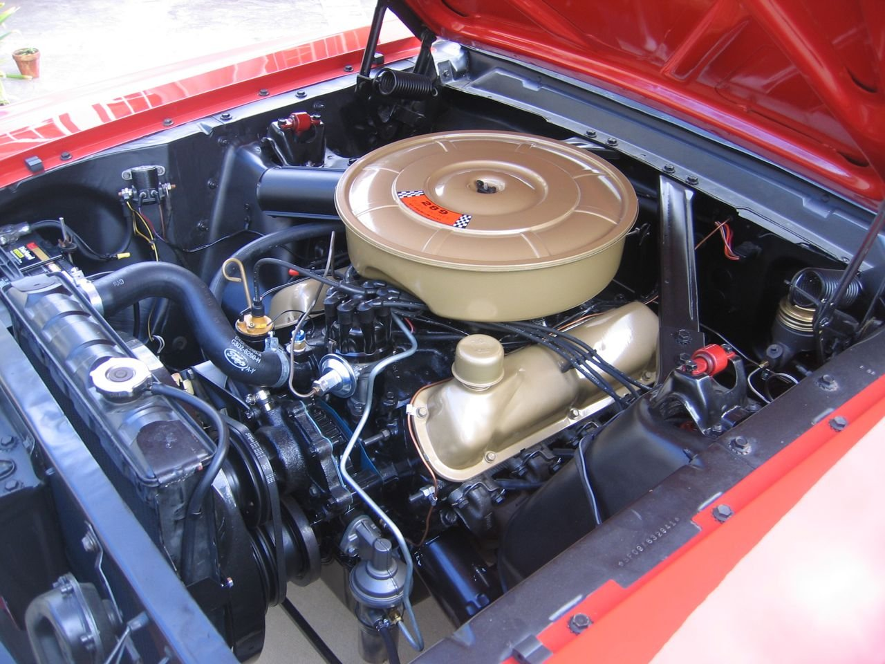 65 ford mustang fuse box