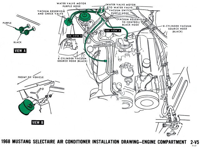 wiring diagram for 1968 mustang gt500