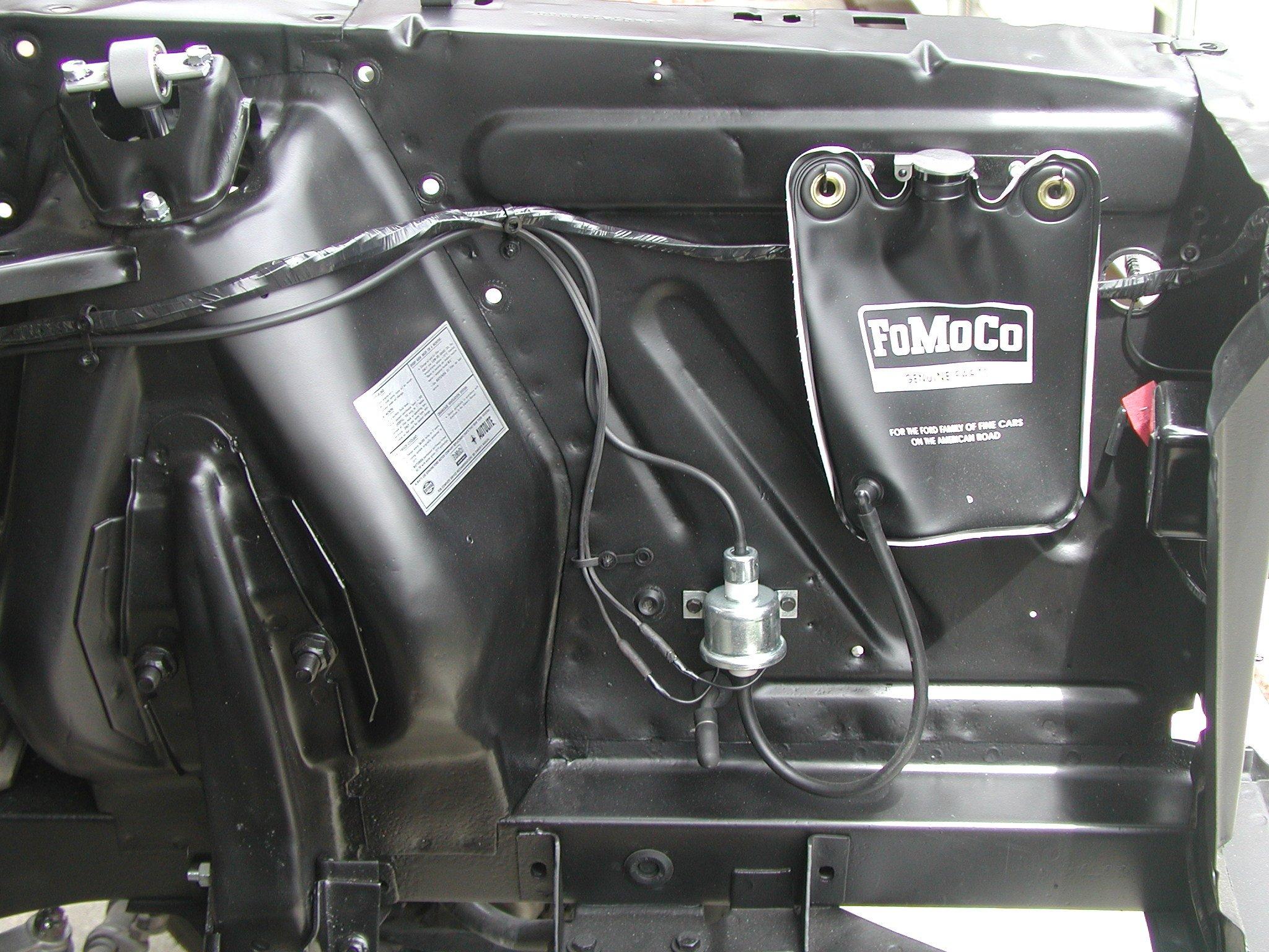 67 mustang engine wiring