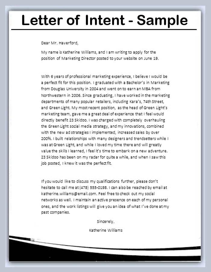 letter of intent sample \u2013 bookhotels
