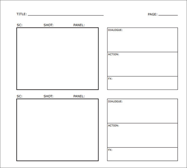 15+ examples of Storyboard templates, word, PPT, and PDF Format - interactive storyboards