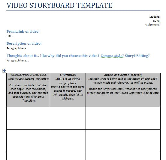 15+ examples of Storyboard templates, word, PPT, and PDF Format