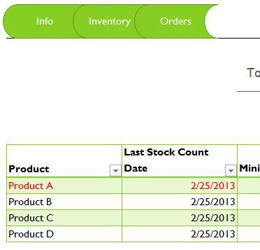 15+ Samples of Inventory Templates in word, Excel And PDF Formats