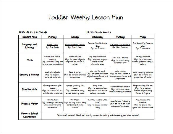 Free Lesson Plan Templates20 Word PDF Format Download All Turnitin - lesson plan template download