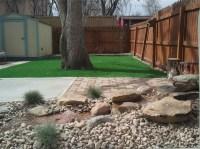 Faux Grass Normal, Illinois Backyard Playground, Backyards