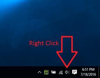 Change Sound Output Windows 10