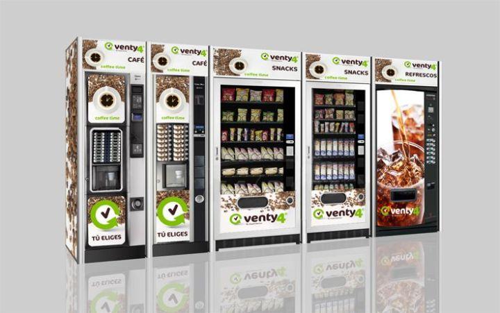 Máquinas Ventycuatro web