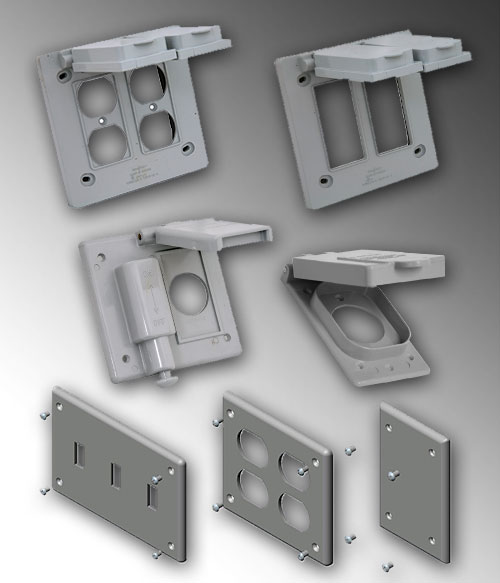 Cover Plates And Box Covers Allied Tube Conduit