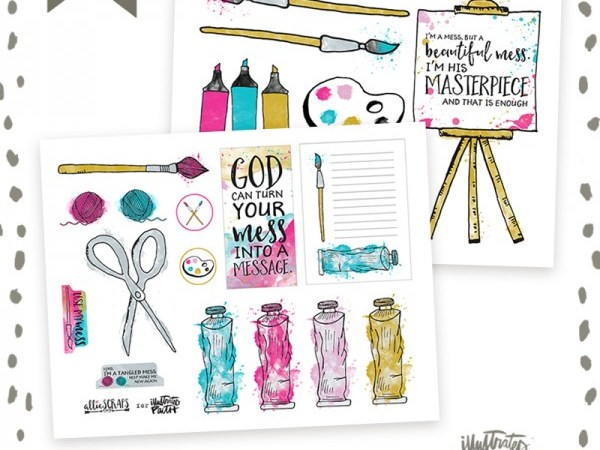 Illustrated Faith | September | Mess to Masterpiece