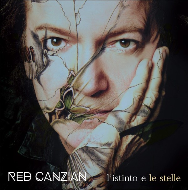 Red Canzian_L'istinto e le stelle_Cover_b