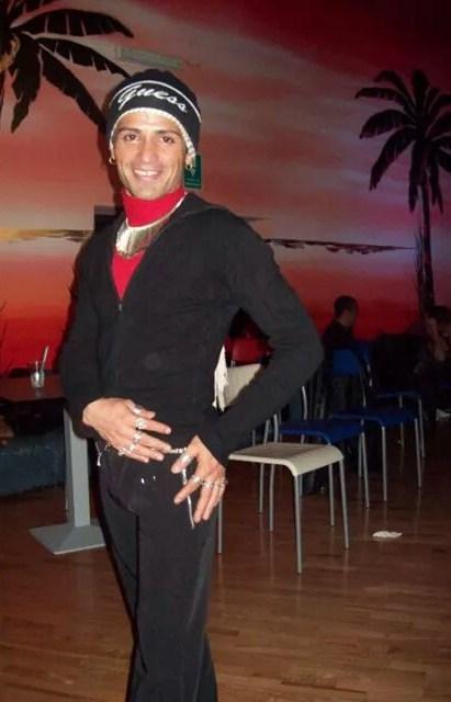 (foto) il ballerino Ernesto Andres Cruz