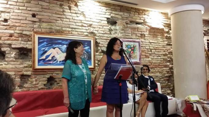 Ana Caffarelli e Cinzia Rossi