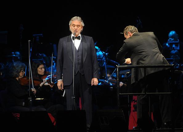 Andrea Bocelli In Concert - New York, NY
