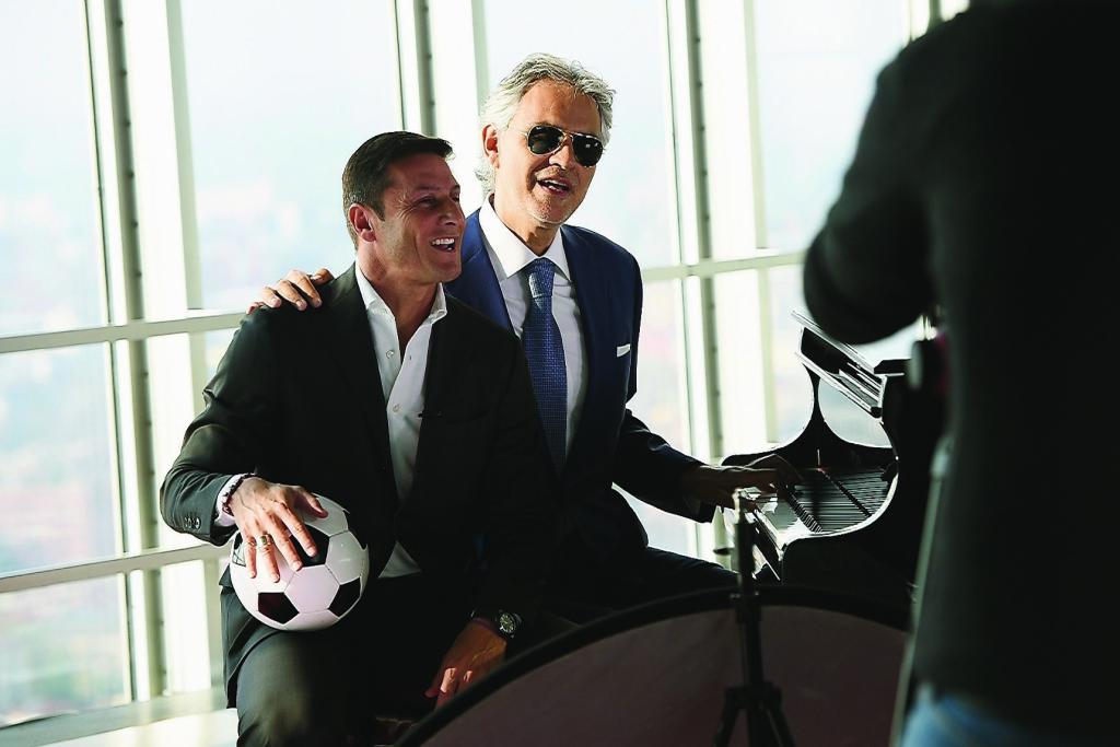 'Bocelli And Zanetti Night' Presentation