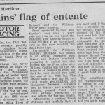 1982 Swiss F1 Grand Prix Dijion Keke Rosberg Wins Peter Collins stops flag marshal error