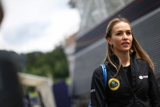 Carmen Jorda (ESP) Lotus F1 Development Driver at Formula One World Championship, Rd8, Austrian Grand Prix, Preparations, Spielberg, Austria, Thursday 18 June 2015.