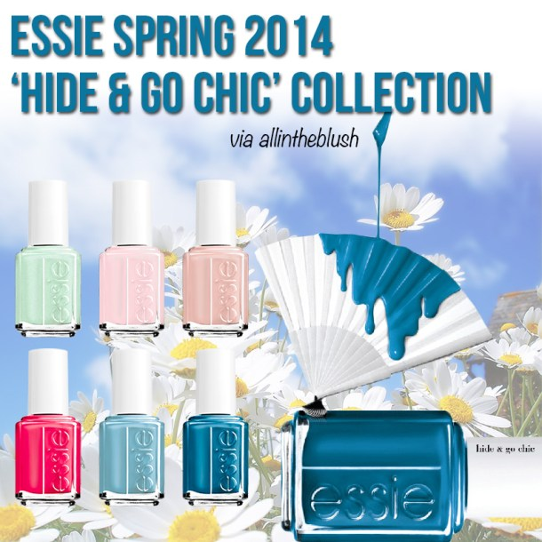Essie Spring 2014 Hide & Go Chic Collection