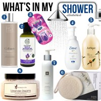 What's In My Shower: Summer 2017