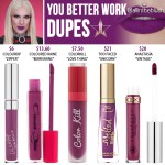 Jeffree Star You Better Work Velour Liquid Lipstick Dupes [Summer 2017]