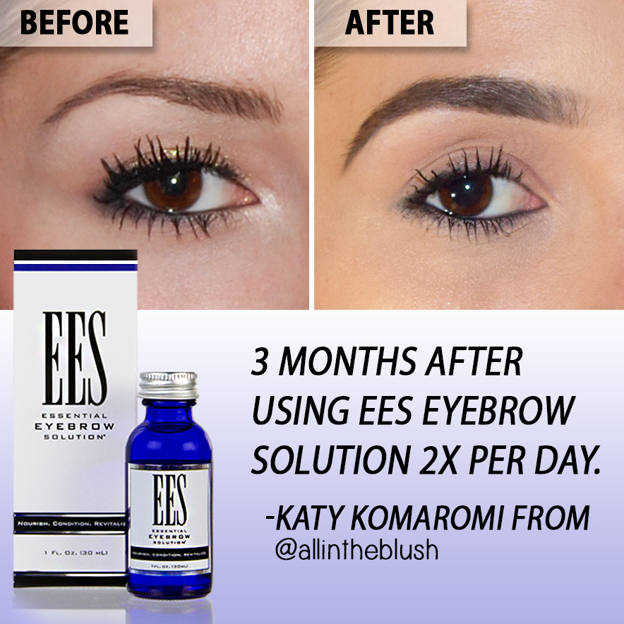EES Essential Eyebrow Solution Review